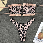The Peachtan  - Pink Pineapple Swimwear