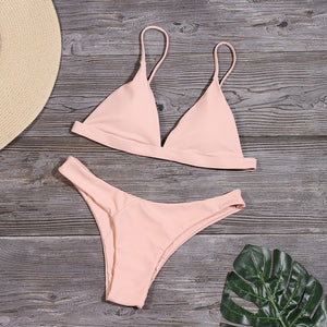 The Minimalist  - Pink Pineapple Swimwear