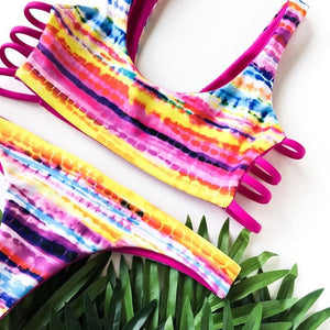 The Skimpy  - Pink Pineapple Swimwear