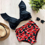 The High W  - Pink Pineapple Swimwear