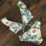 Chiffon Swimsuit Beach Dress  - Pink Pineapple Swimwear