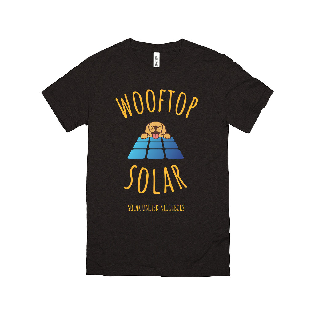 Wooftop Solar T-Shirt (Golden Retriever)