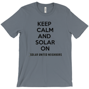 Keep Calm and Solar On T-Shirt