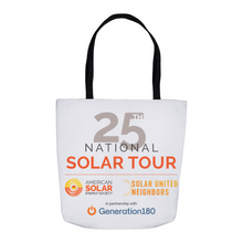 Load image into Gallery viewer, Commemorative National Solar Tour Tote