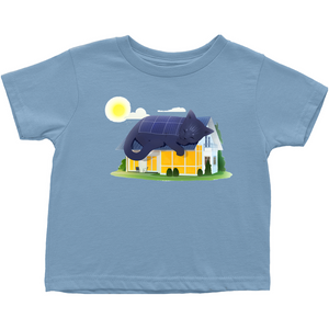 Solar is the Cat's Meow T-Shirt (Toddler Sizes)