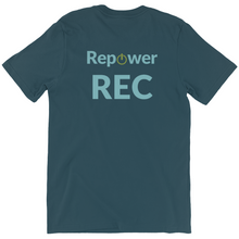 Load image into Gallery viewer, Repower REC T-shirt (Back Graphic)