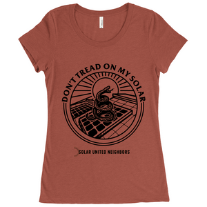 Don't Tread On My Solar T-Shirt