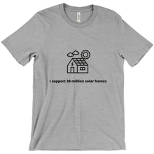 Load image into Gallery viewer, 30 Million Solar homes T-shirt