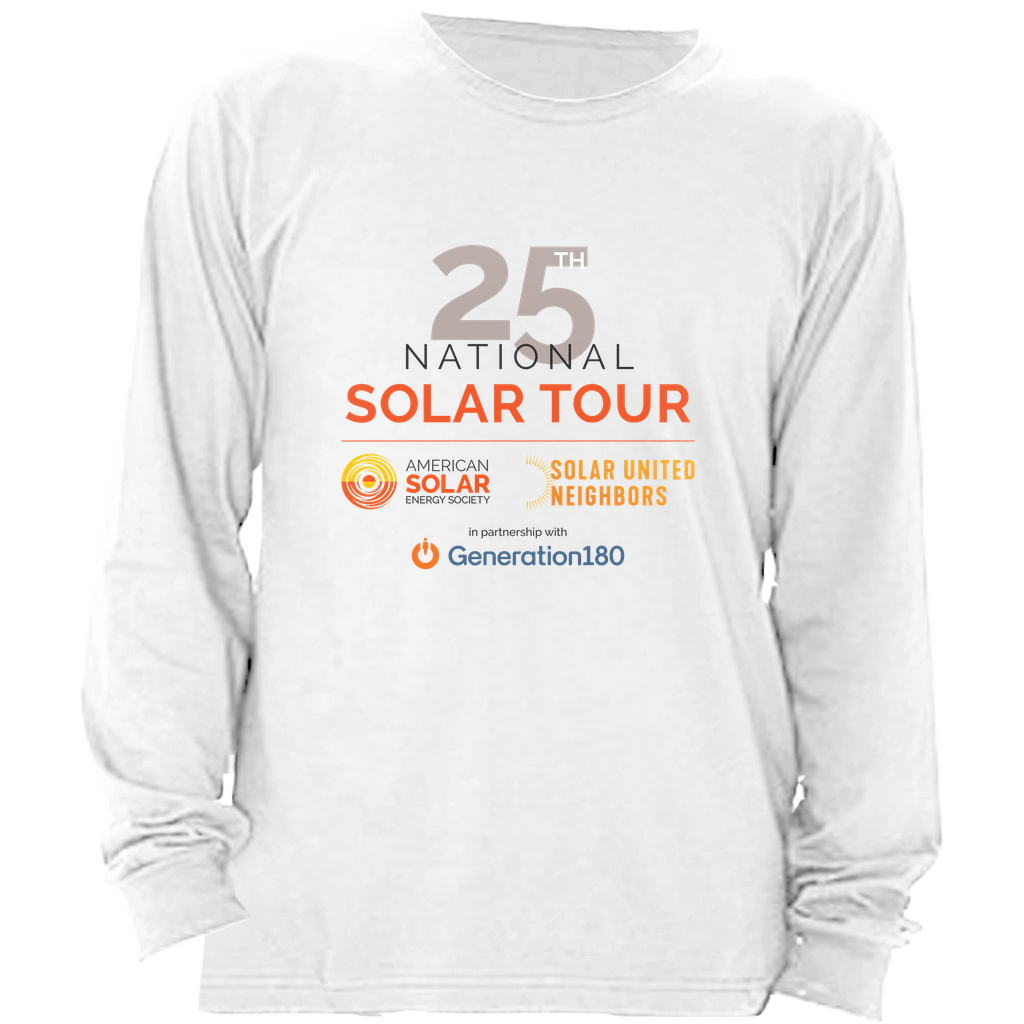 National Solar Tour Long Sleeve Shirt