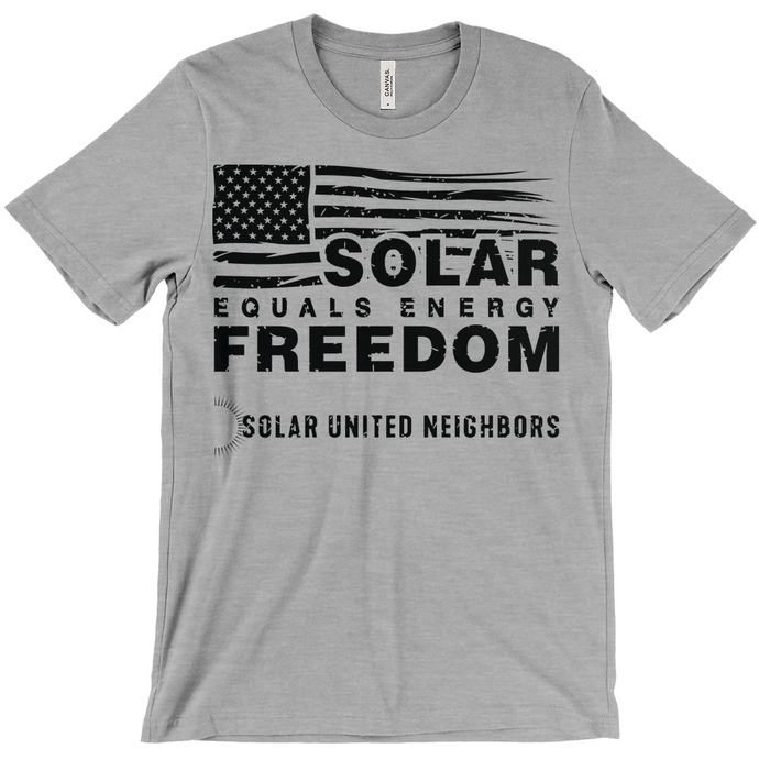 Solar = Energy Freedom T-Shirt