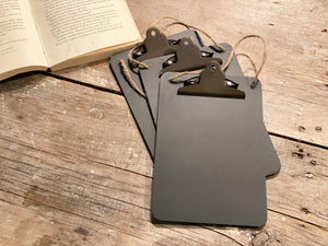 Black Clipboard Photo Holder
