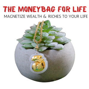 Money Bag Necklace Charm