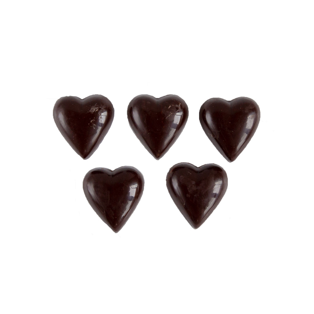 Treats - 70 % Dark Chocolate Hearts