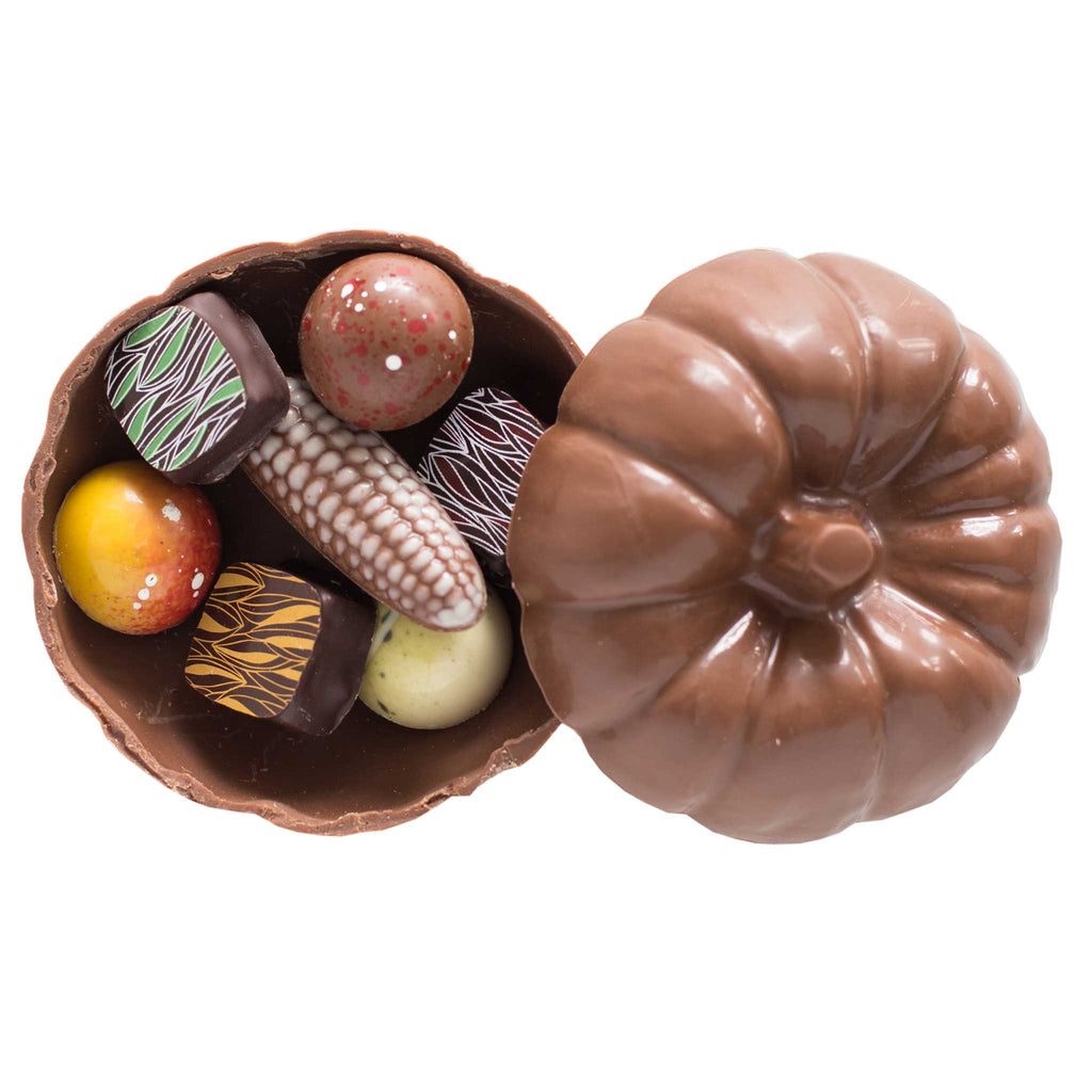 Harvest Gift Box - Milk (Pumpkin with 7 bonbons)