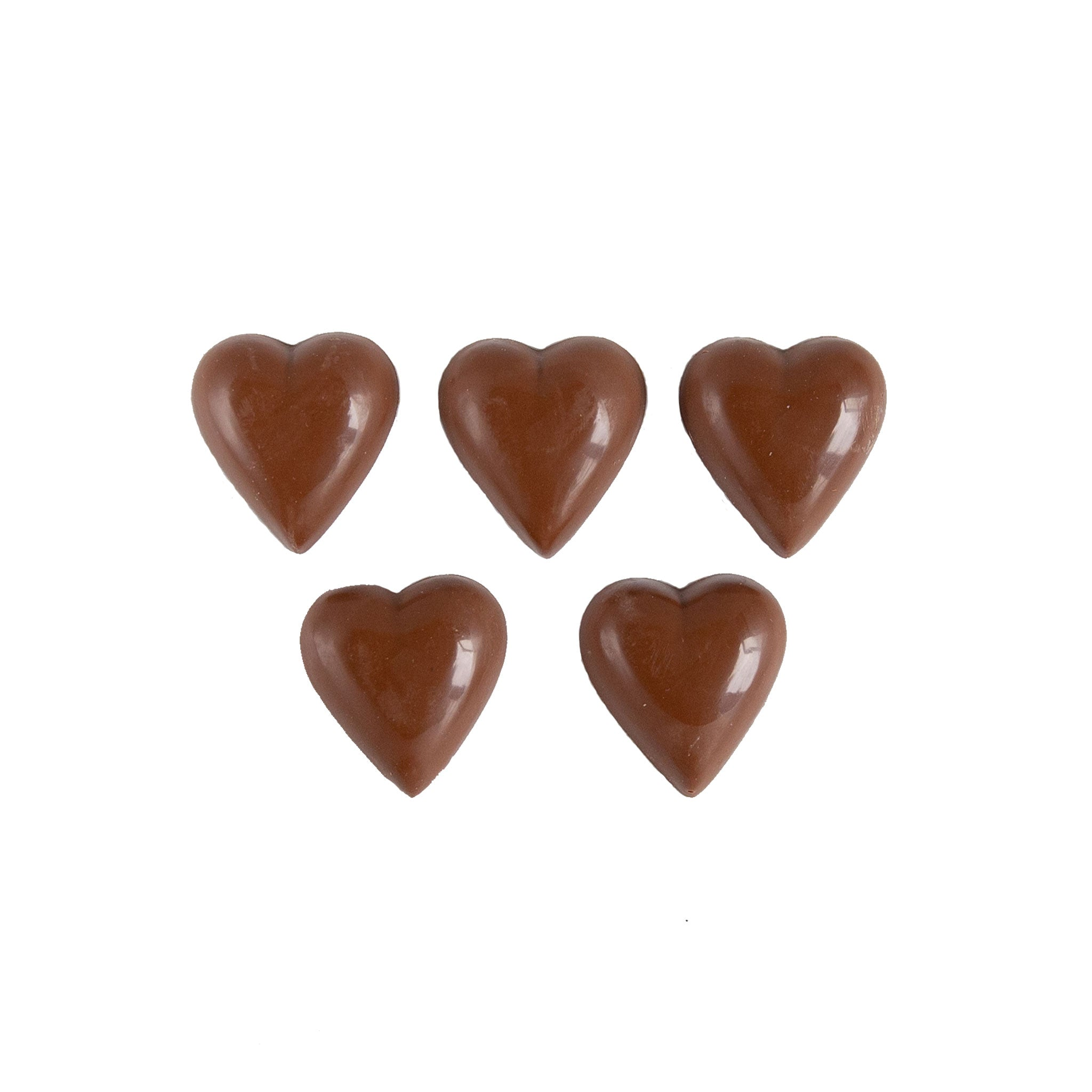 Milk Chocolate Treats - Hearts