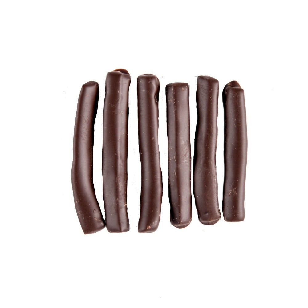 Treats - 70% Dark Chocolate covered Lemon Peels