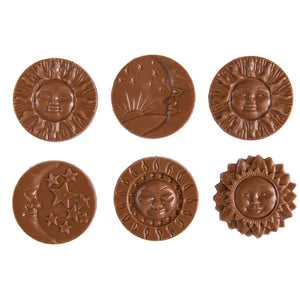 Treats - 34% Milk Chocolate Sun and Moon