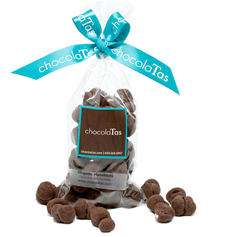 Nuts - Roasted Hazelnuts Enrobed in Milk Chocolate - SOLD OUT