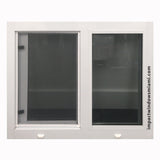 "73 3/4"" x 50 3/8"" Air Master Horizontal Roller Window"