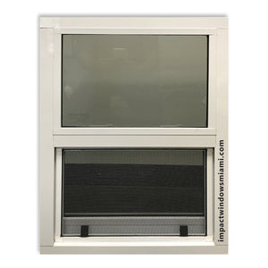 "26 1/2"" x 26"" Air Master Single Hung Window (Privacy Glass)"