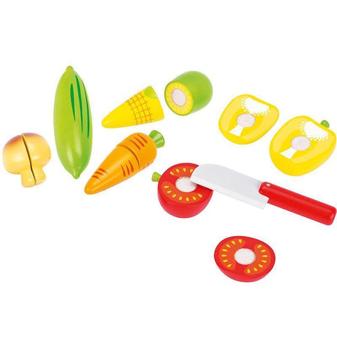 GOKI Cutting Vegetables with velcro-Role Play-GOKI