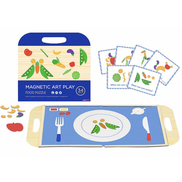Magnetic Play Set Puzzle-Educational-Mier Edu