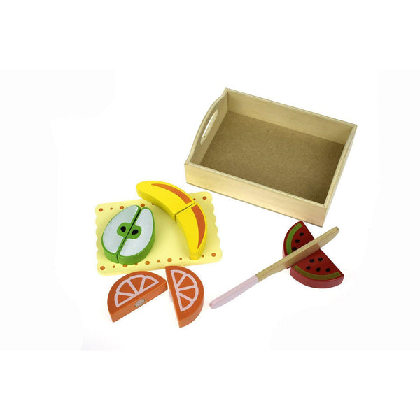 Wooden Food Tray - Fruit-Role Play-Kaper Kidz