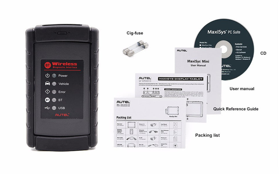 AUTEL MaxiSys MS908 Automotive Scanner/Programmer