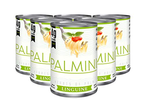 Palmini Low Carb Linguine | 4g of Carbs | As Seen On Shark Tank (14 Ounce (Pack of 6))