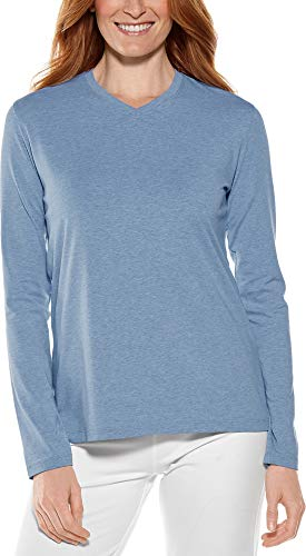 Sun Protective UPF 50+ Women's Everyday V-Neck T-Shirt