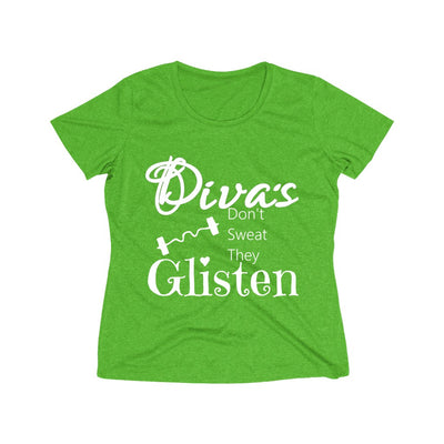 Diva's Glisten Dri-Wicking Tee - 13 Colors