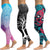 LI FI Print Yoga Pants Women Unique Fitness Leggings Workout Sports Running Leggings Sexy Push Up Gym Wear Elastic Slim Pants