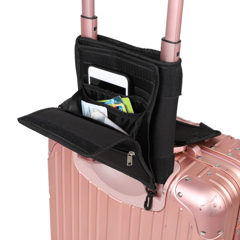 Travel Nylon Bag Attaches to Luggage