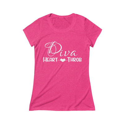 Heart Throb Triblend Short Sleeve Tee