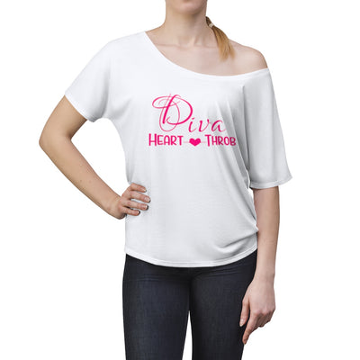 Pink Diva Heart Throb Off the Shoulder ( More colors availabe)