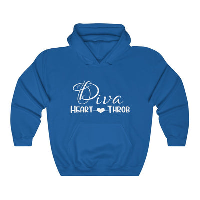 Diva Heart Throb ™ Hooded Sweatshirt ( More colors available)