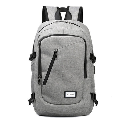 Laptop USB Charging Backpack,  Unisex Waterproof