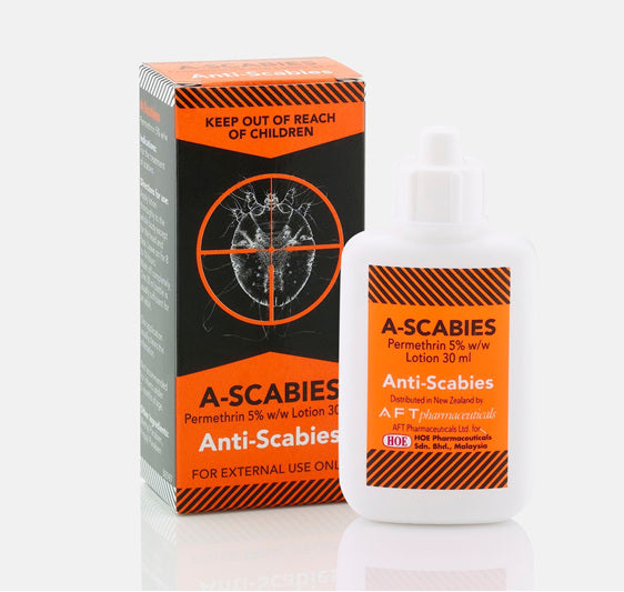 A-Scabies Anti-Scabie Lotion