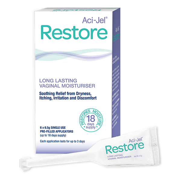 Aci-Jel Restore Vaginal Moisturiser 6 x 6.5g Applications