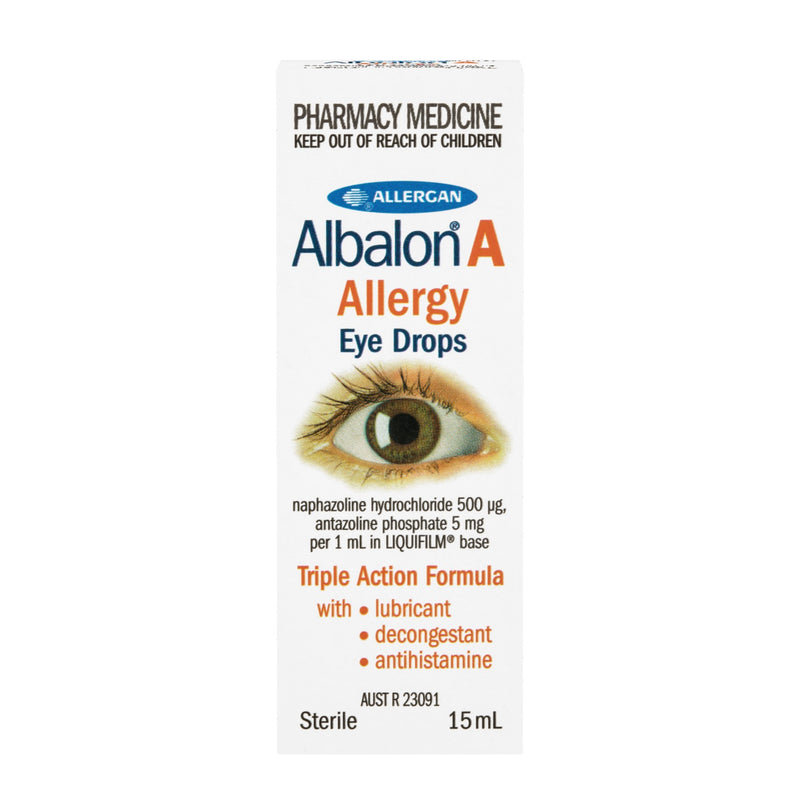 Albalon-A Allergy Eye Drops 15 mls