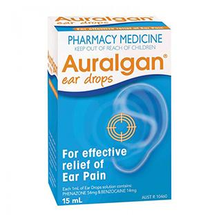 Auralgan Ear Pain Relief Drops 15 mls