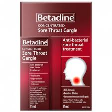 Betadine Concentrated Sore Throat Gargle