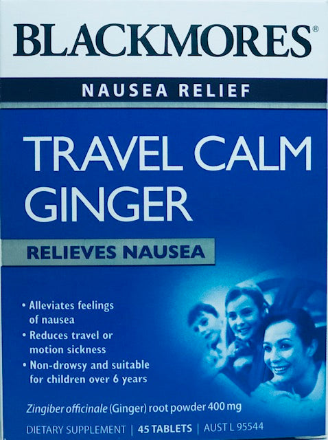 Blackmore Travel Calm Ginger tablets