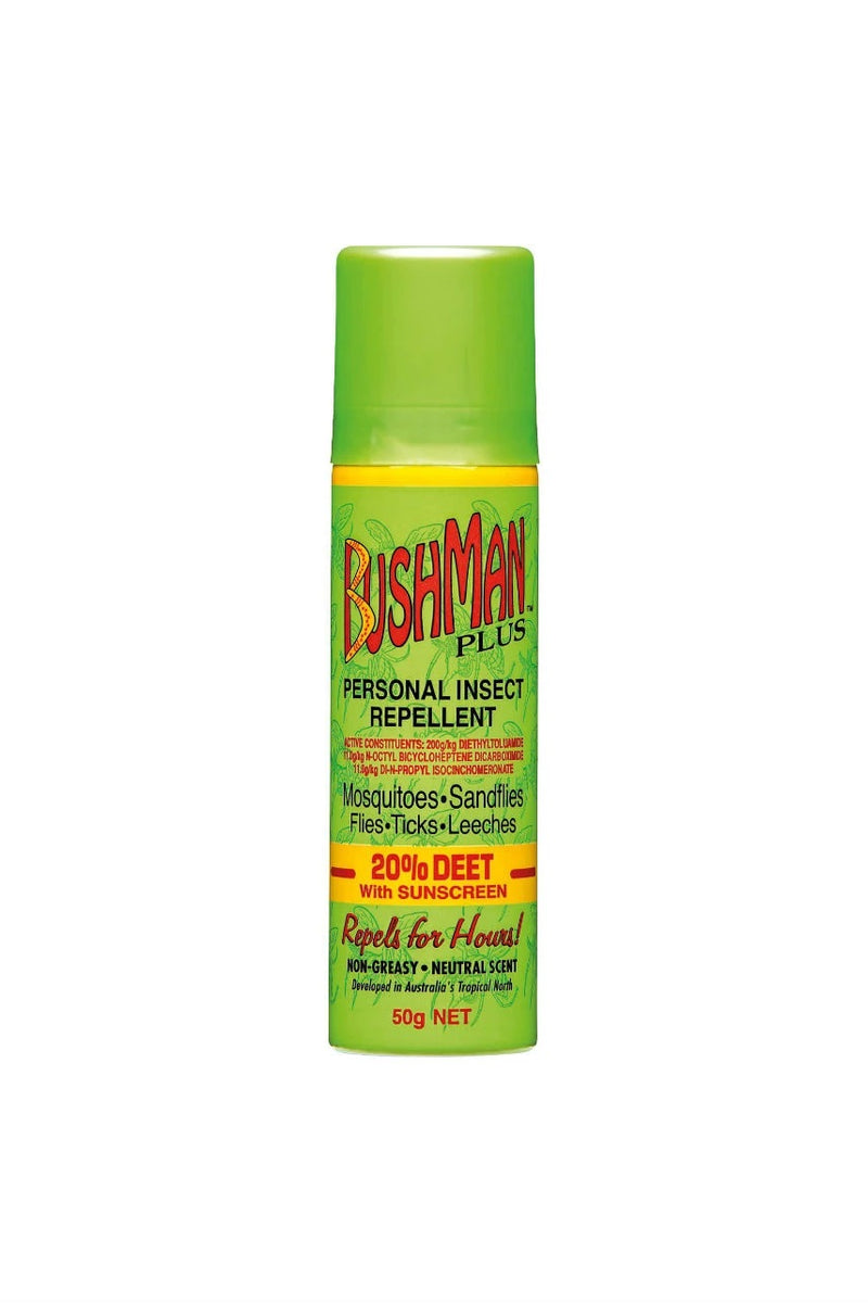 Bushman Plus Insect Repellent 20% Deet with Sunscreen Spray