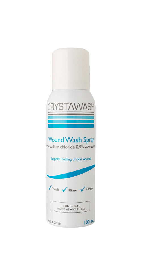 CRYSTAWASH Wound Wash Spray