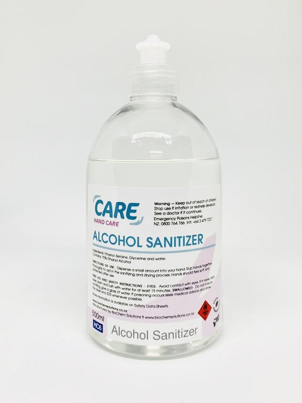 Care Hand Care Alcohol Sanitizer 500 ml