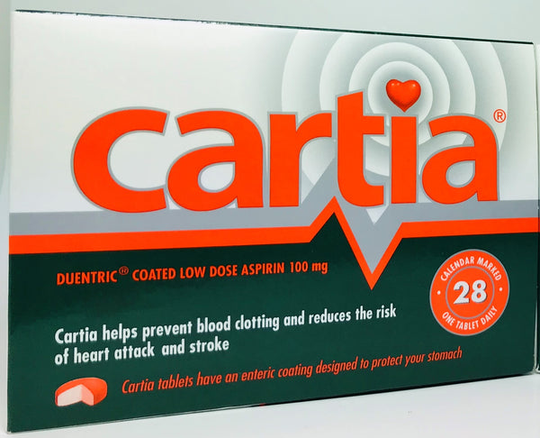 Cartia 100mg Aspirin Tablet