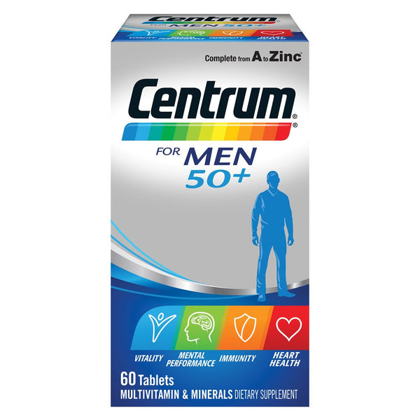Centrum For Men 50+ Multivitamin