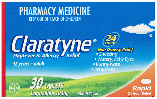 Claratyne Hayfever Allergy Relief Tablets