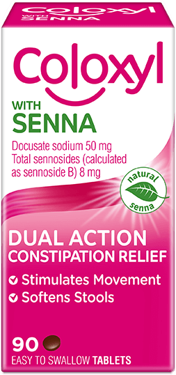 Coloxyl with Senna Constipation Tablets